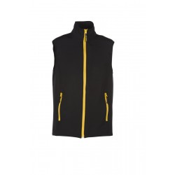 BODYWARMER SOFTSHELL 2 COUCHES MIXTE
