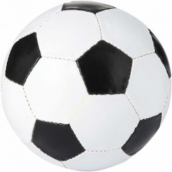 BALLON DE FOOTBALL BLANC/NOIR SANS MARQUAGE