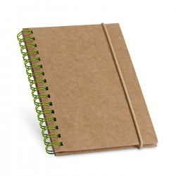 Carnet de notes carton spiralé Mans A6