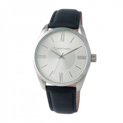 MONTRE TEXTUS LEATHER BLUE LACROIX
