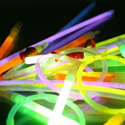 TUBE BRACELETS FLUORESCENTS