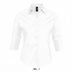 Chemise manches 3/4 femme 140 g