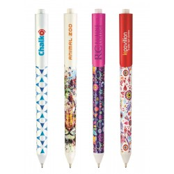 STYLO BILLE CHALK ABS OPAQUE MARQ. QUADRI 360° DIGITAL