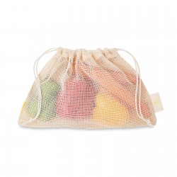 Sac filet réutilisable coton Shoppi 20 x 30 cm