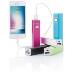 Chargeur USB smartphone Square Alu